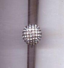 Clear Crystal Ring Kenneth Lane Huge Black