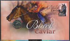 2013 Black Caviar retirement Philatelic Numismatic Cover