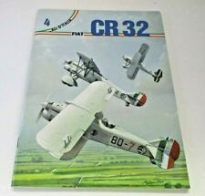 FIAT CR32 - Ali D'Italia Number 4 English & Italian Text