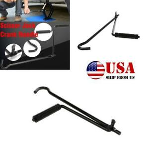 Car Tire Wheel Lug Wrench Crank Speed Lift Rod Handle Tool for Scissor Jack