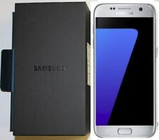 Unlocked GSM Samsung Galaxy S7 SM-G930 32GB Silver Smartphone, AT&T T-Mobile- A8