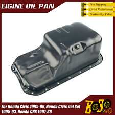 Engine Oil Pan Fit for Honda R-X 1988-1991 Civic 1988-1995 Del Sol 1993-1995