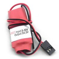 NEW 5A UBEC Input 9-30V 3-8S Lipo battery  Output voltage 5.25V +/-0.5V I