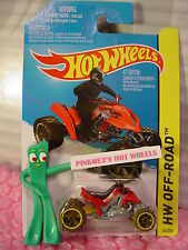 Case N/P 2015 i Hot Wheels SAND STINGER motorcycle #84∞Red Quad∞Off-Road~