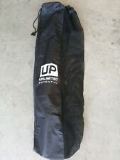 Up Mesh Black Equipment Bag Adjustable, Sliding Drawstring Cord Closure