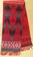 POLO RALPH LAUREN Red Wool Scarf MADE IN ITALY Aztec Red NWT Exquisite SOLD OUT