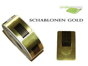 50 St. Modellierschablonen Nagel Schablonen Gel Acryl Nail Art Design Verlängern