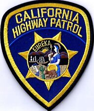 CALIFORNIA HIGHWAY PATROL - SHOULDER - IRON or SEW-ON PATCH