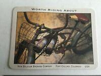 Vintage Postcard Bicycle New Belgium Brewing Company Ft Collins Colorado A1
