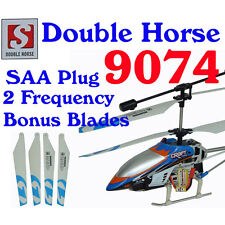 Double Horse 9074 GYRO Helicopter 3.5ch + FREE SPARE BLADES
