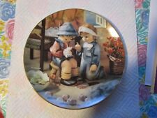 1992 M.J. Hummel [Plate No.Va6207] Little Companions [Tender Loving Care]!