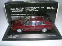 Minichamps Audi Quattro Baujahr 1981 tizian rot metallic, 1:43 Art. 430019422