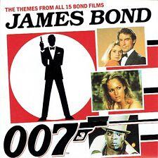 CD - JAMES BOND - The theme from all 15 bond films