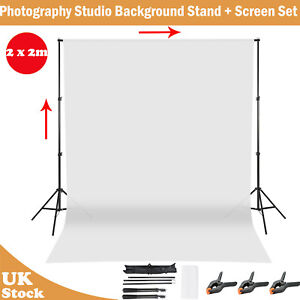 Background Stand Support System with Backdrop for Photo Video Studio Photography