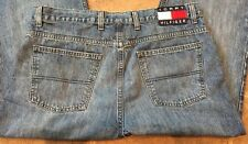 Vintage Tommy Hilfiger Jeans Flag Spell Out 90s 36 X 34 Act. 35 X 33