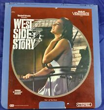 RCA VideoDisc CED - West Side Story Vol.1 & 2, 1961 - United Artists