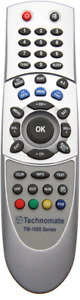 Technomate 1000, TM-1000 Series Remote Control