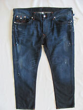 True Religion Skinny Flaps Jeans-Distressing/Oil -Camshaft - Size 42- NWT- $282