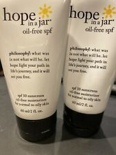 PHILOSOPHY HOPE IN A JAR SPF 30SUNSCREEN AND MOISTURIZER 2oz