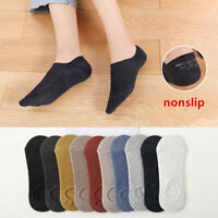 5-10 Pairs Womens Cotton Loafer Boat Nonslip Invisible Low Cut No Show Socks 5-8
