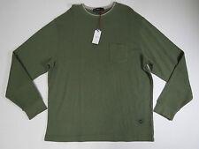 Crew neck Knit Shirt  X-Large Cremieux Classics 38 Men Long Sleeve Sage  $69.50