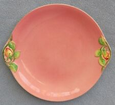 Royal Winton Pink Rosebud Rose Flower Handled Cake Plate England