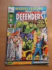 MARVEL FEATURE #1, 1ST APP & ORIGIN OF THE DEFENDERS, NETFLIX, KEY, HOT, 1971!!!