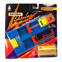 Vintage Matchbox Lightning LR-760 Challenge Dual Launcher Race Set - 1991 SEALED
