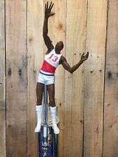 Philadelphia 76ers TAP HANDLE Wilt Chamberlain Beer Keg NBA White Jersey