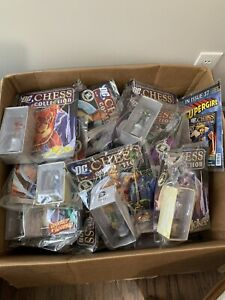Eaglemoss DC Batman Chess set collection 41 Total Pieces New/opened Bags