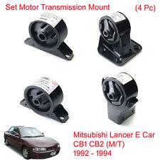 Set Engine Motor Trans Mount For Mitsubishi Lancer E Car CB1 CB2 (M/T) 1992 - 94