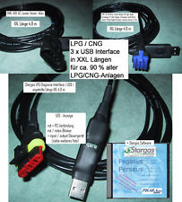 3 x LPG Diagnose USB Interface in XXL 4,8m Stargas KME Landi Lovato um universal