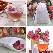 100-Pack Cotton Muslin Drawstring Reusable Bags Bath Soap Herbs Tea 7*9cm t