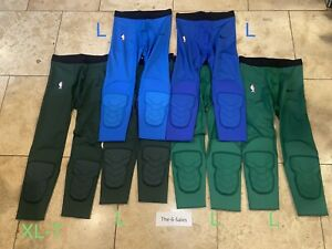 NIKE NBA HYPERSTRONG PADDED TIGHTS 3/4 Men's Large / Large-T (Lot Of 6)