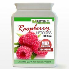 30 Raspberry Ketone Capsules Max Strength 600mg Weight Loss Diet Bottle NL