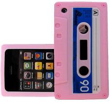 Iphone 3g/3gs 12 Colores Cassette Retro Cinta De Gel Goma Silicona Funda Piel