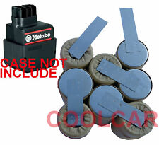 Sub C Battery Pack For Metabo 9.6V L 6.30070 SB A 100/2R+L 2.0Ah NiCd PLATE type