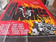 Affiche de cinéma 160x120 Les damnés 1959
