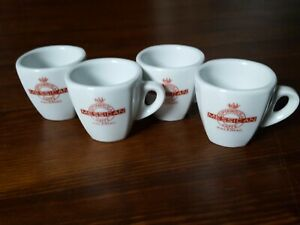 Richard Ginori Cafe Espresso Cups Supermiscela Caffe Messican Palermo Sicily Set