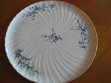 "Bernardaud Limoges France Myosotis Large Tart Dish 12-5/8"""