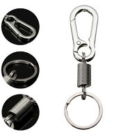 Hiking Travel Kits Keyring Carabiner Key Chain Waist Belt Clip Gourd Buckle