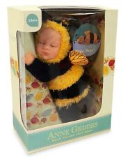 ANNE GEDDES 'Baby Bee' Bean Filled Soft Doll - New in Box