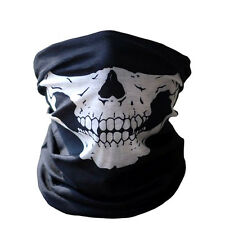 Costume, Fancy Dress  SKULL Ninja FACE Mask, Balaclava -  1 Size Senior