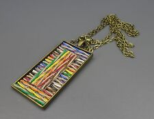 SteamTronix - Ethernet Computer Cable Pendant (woven,fabric,primitive,gift