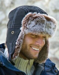 Result Trapper Hat Russian Cossack Sherpa Quick Dry Faux Fur Ushanka Warm (RC56)