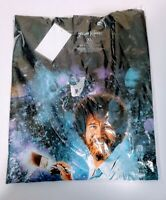 Bob Ross Mens XL T Shirt ExtraLarge Space Galaxy New With Tags NWT Sealed Cotton