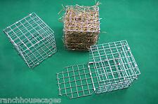 Lot de 3 grands Hay Cube Cage Feeder Rack/Jouet pour Lapin, chinchilla, cobaye