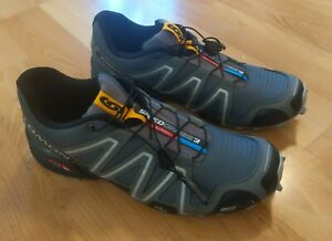 Salomon 329785 Speedcross 3 Gray Trail Running Sneaker Shoes Men's Size 13 US