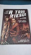 "DVD ""A TODO RIESGO "" PRECINTADA CLAUDE SAUTET JEAN PAUL BELMONDO LINO VENTURA"