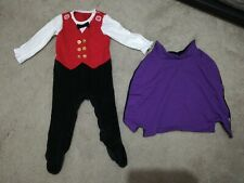 F&F 9-12 Months Baby Boys Halloween Outfit Vampire With Cape